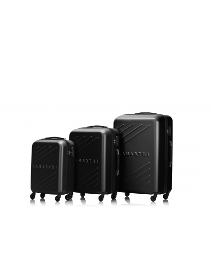 BIRMINGHAM - Set de 3 valises black