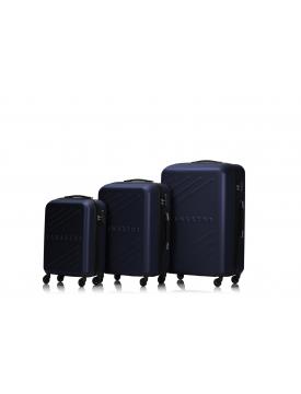 BIRMINGHAM - Set de 3 valises navy