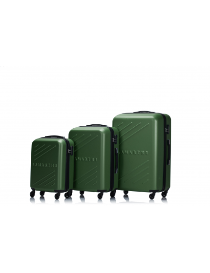 BIRMINGHAM - Set de 3 valises green forest