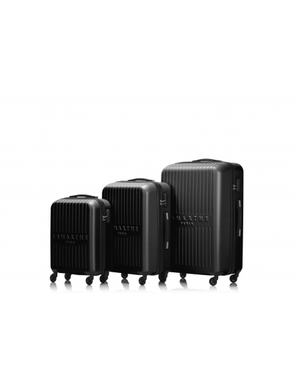 SOFIA - Set de 3 valises black